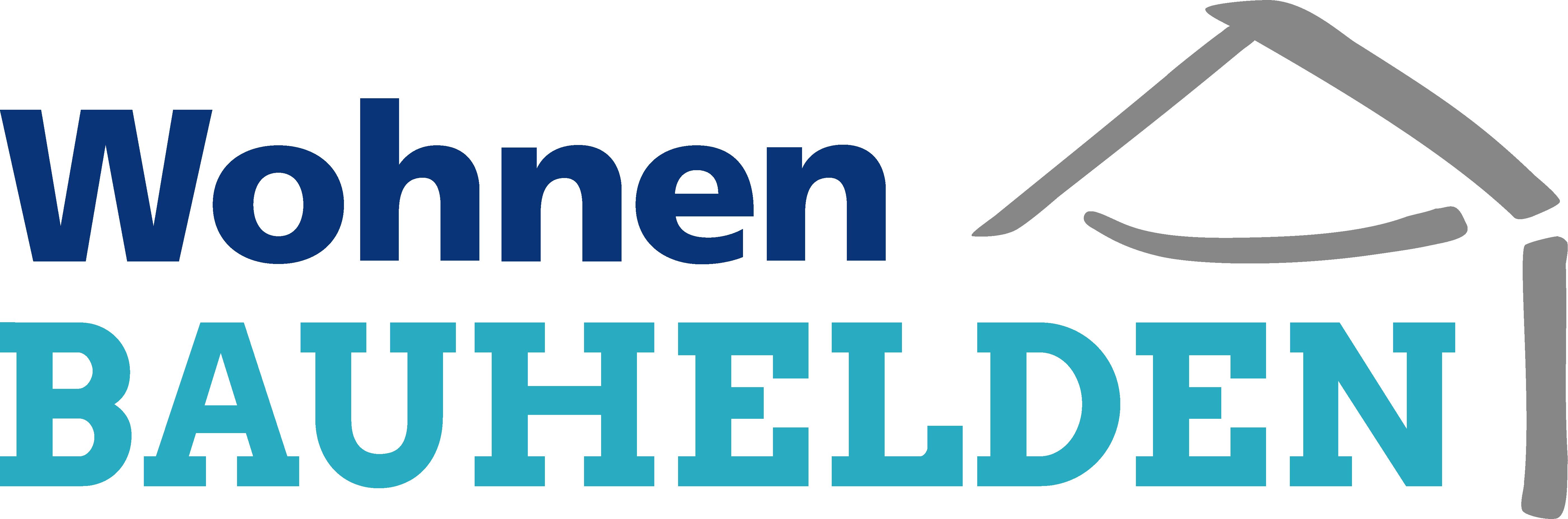 Wohnen Bauhelden Logo